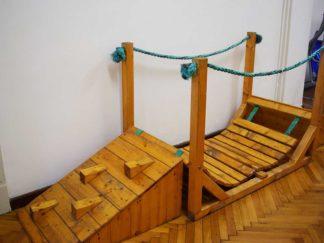 Drvena sprava za vježbanje